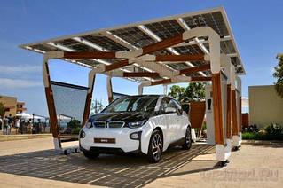 Крыша на солнечных батареях