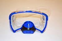 Маска для плавания с дыхательным клапаном, для взрослых.