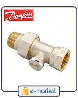 Запорный клапан RLV-S 15 прямой (003L0124) Danfoss