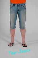 Джинсовые шорты мужские Stravt голубые