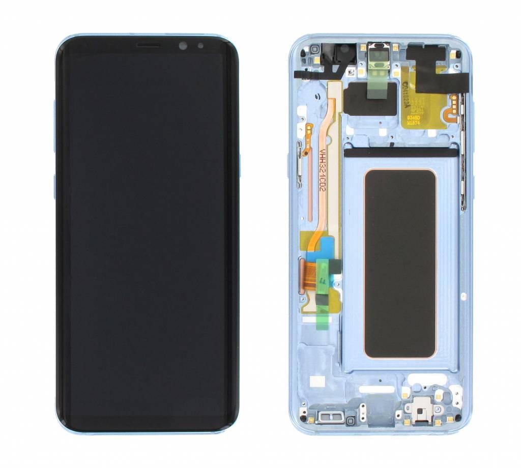 Дисплей с сенсором  Samsung G955 Galaxy S8 plus Голубой/Blue, GH97-20470D