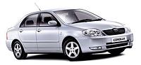Авто чехлы Toyota Corolla 2000-06 E 120 Nika