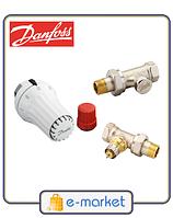 Комплект радиаторный прямой DANFOSS 013G5174