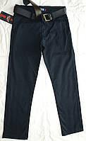 Штаны школьные джинсы для мальчика синие черные 9-12 лет
