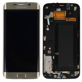 Дисплей с сенсором Samsung G928 Galaxy S6 Edge plus Золотой/Gold, GH97-17819A
