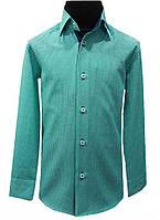 Рубашка детская  №12.1 - 14143 бирюза