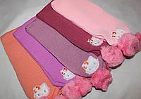Вязаные шарфики на девочку.