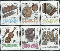 Польща 1984 - музичні інструменти - MNH XF
