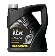 Моторне масло Mannol O. E. M. for Peugeot Citroen 5w30 4л