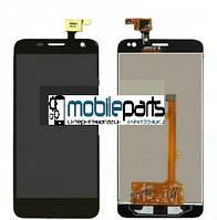 Оригинальный Дисплей (Модуль) + Сенсор (Тачскрин) для Alcatel Idol mini 6012D (Черный)