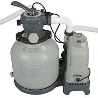 Система соленой воды & фильтр-насос грубой очистки 220-240V, выход хлора 12 грамм/час (28680)