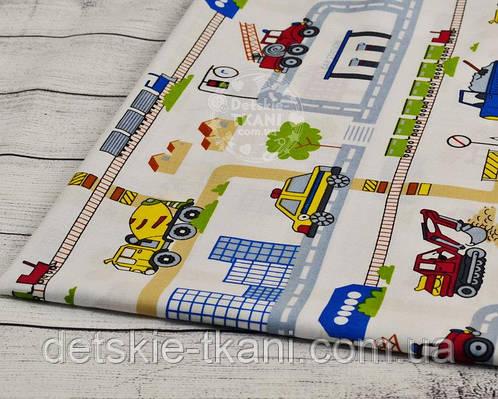 Лоскут ткани №869а размером 35*80см