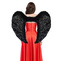 Крылья Ангела Супергигант 80х95см (черные)
