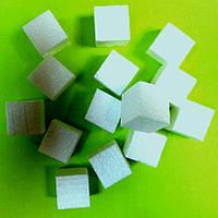 Упаковочный пенопласт кубиками 1,5-2 см
