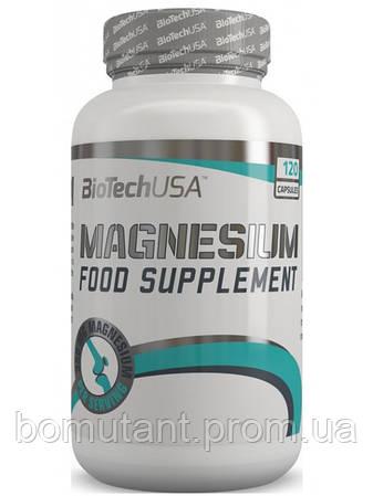 Magnesium 120 капсул BioTech