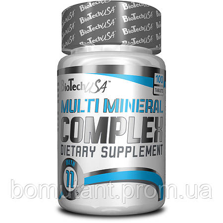 Multi Mineral Complex 100 табlets BioTech