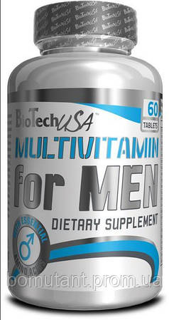Multivitamin for men Men`s Perfomance 60 таб BioTech