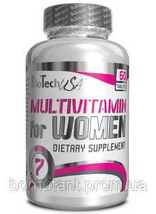 Multivitamin for Women 60 таб BioTech