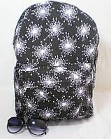 Вместительный стильный рюкзак с оригинальным рисунком