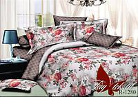 Семейный комплект постельного белья ранфорс R1280 c комп. ТМ TAG