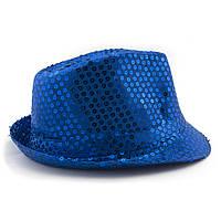 Шляпа Твист (синяя)