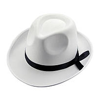 Шляпа Мужская (белая) (товар с дфектом)