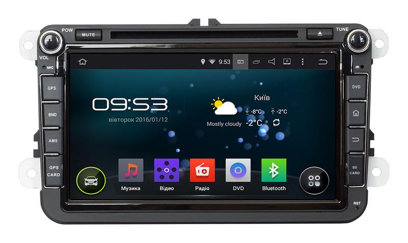 Штатная магнитола Incar TSA-8684A9 для Skoda Octavia A5 Android 9.0