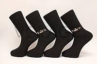 Мужские носки высокие стрейчевые КАРАБЕЛА 41-44 черный