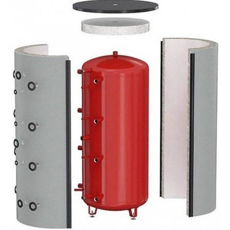 Теплоаккумулятор ЕКО 700 л. без изоляции, фото 2