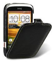 Melkco Jacka leather case for HTC Desire C A320e, black (O2DERCLCJT1BKLC)