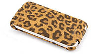 Nuoku LEO stylish leather case for HTC Sensation XL G21, brown
