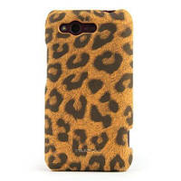 Nuoku LEO stylish leather cover for HTC Rhyme G20, brown
