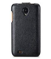 Jacka leather case for Lenovo S750, black Melkco (LNLN75LCJT1BKPULC)