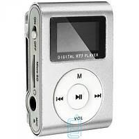MP3 плеер iPod FM с дисплеем серебристый
