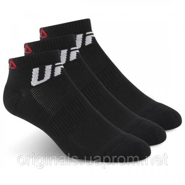 Черные носки Reebok UFC Fan Inside AZ8791