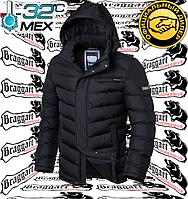 Куртки на меху зимние Braggart - 2619#2620 черный