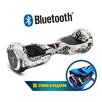 Гироскутер Smart Balance Wheel 6.5, цвет «Газета»