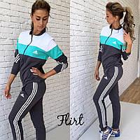 Спортивный костюм Adidas женский модный разные цвета FfL40