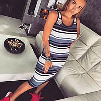 Стильное женское платье-миди л-70354