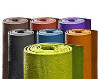 """Нарезной коврик для йоги """"РИШИКЕШ (Rishikesh) ПРЕМИУМ 60"""" 60см*180см* 4,5мм, Бодхи, Германия"""