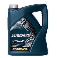 Моторное масло Mannol Standart 15w40 SL/CF 5л