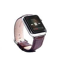 Кожаный Браслет для Apple watch 38 mm.