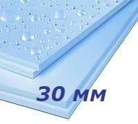 Батэплекс 30 мм утеплитель экструдированный пенополистирол для пола, фундамента, балкона