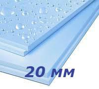 Батэплекс 20 мм утеплитель экструдированный пенополистирол для пола, фундамента, балкона