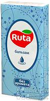 """Платки носовые 10шт """"Ruta"""" белые"""