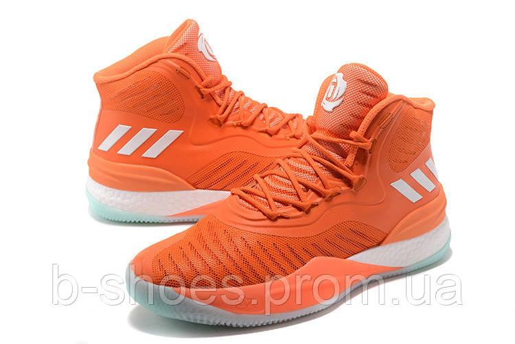 Мужские баскетбольные кроссовки Adidas D Rose 8 (Orange)