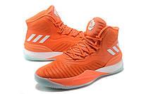 Мужские баскетбольные кроссовки Adidas D Rose 8 (Orange)  , фото 1