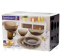 """Сервиз столовый 31 предметный Ambiante Eclipse """"L5177"""" Luminarc."""