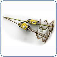 Насадка для миксера для штукатурных смесей 80 х 400 мм HTtools