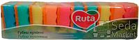 """Губки кухонные """"Ruta"""" с волнистой поверхностью 10 шт."""